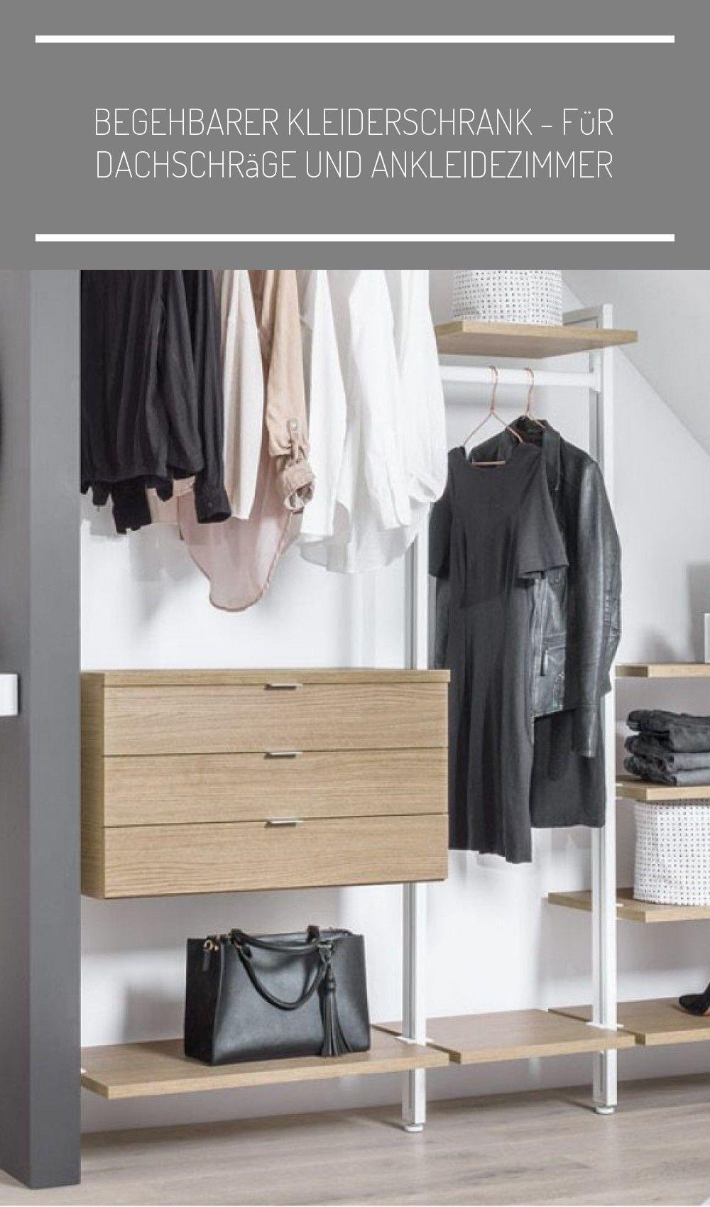 Begehbaren Kleiderschrank In Dachschrage Einbauen Dank Flexibler