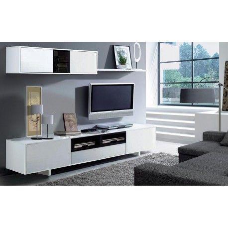 El mueble de comedor Belus es un completo mueble de TV con 3 ...