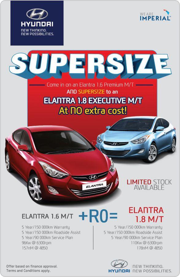 Carfind Specials Elantra Hyundai Special