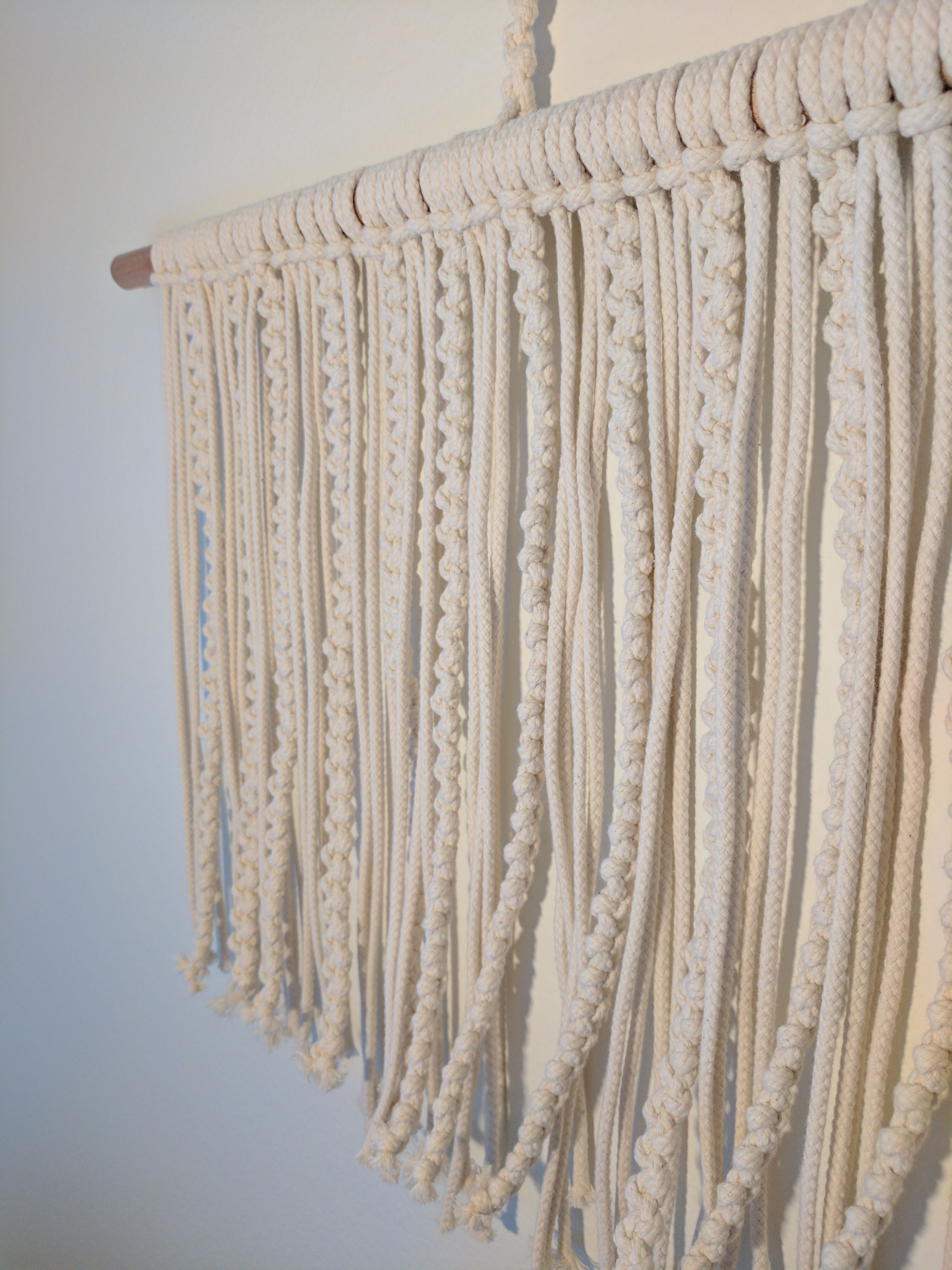 Hera snug macrame wall hanging approx x inches approx