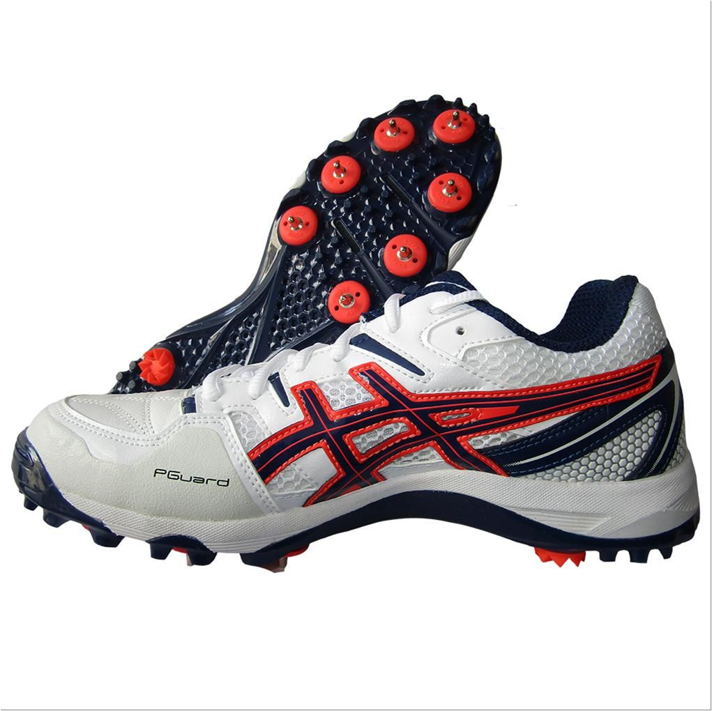 Asics Gel Gully 5 Full Spike Cricket Shoes White And Blue Expanse Buy Asics Gel Gully 5 Full Spike Cricket Shoes White And Blue Expanse Online At Lowest Price Shoes