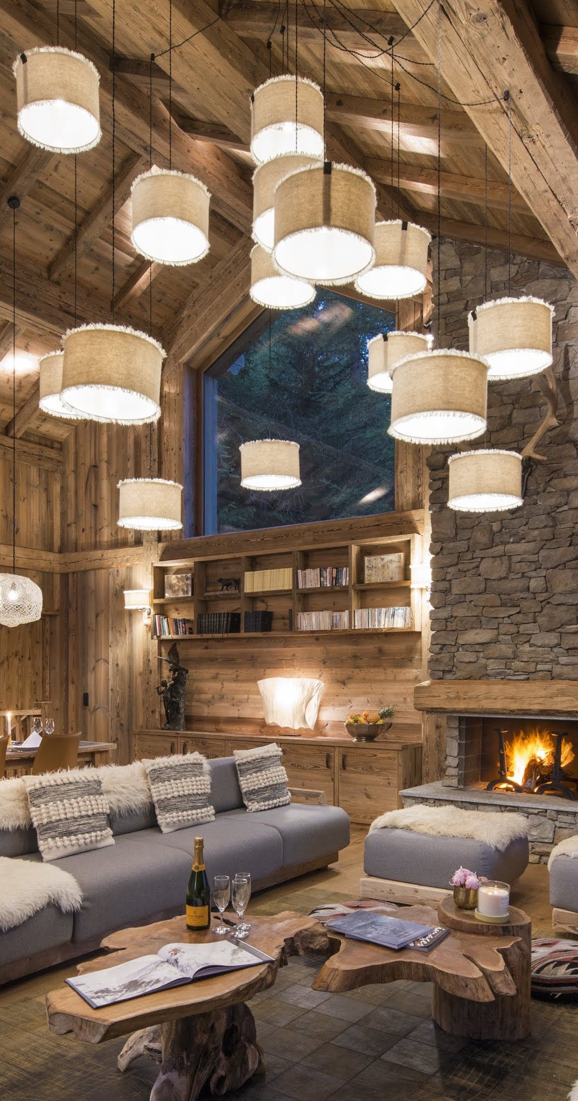 The Farmhouse Val D Isere Chalet Inoko Val D Isère French Alps Chalets Living Rooms In