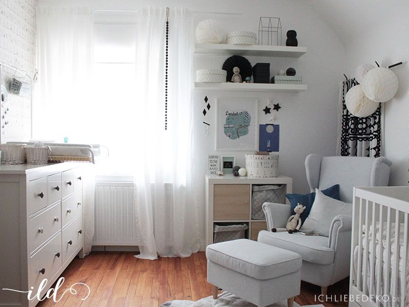 ein babyzimmer einrichten mit ikea in 6 einfachen. Black Bedroom Furniture Sets. Home Design Ideas