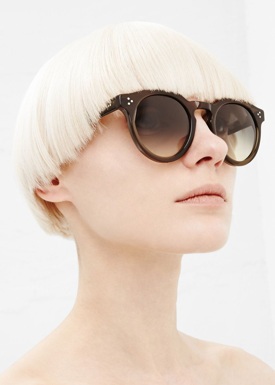 18247d6954 Illesteva Leonard II Sunglasses (Green)