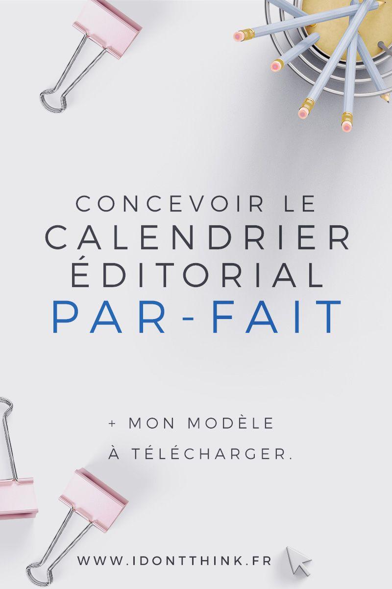 Calendrier Editorial Modele.Comment Concevoir Le Calendrier Editorial Parfait Pour Ton