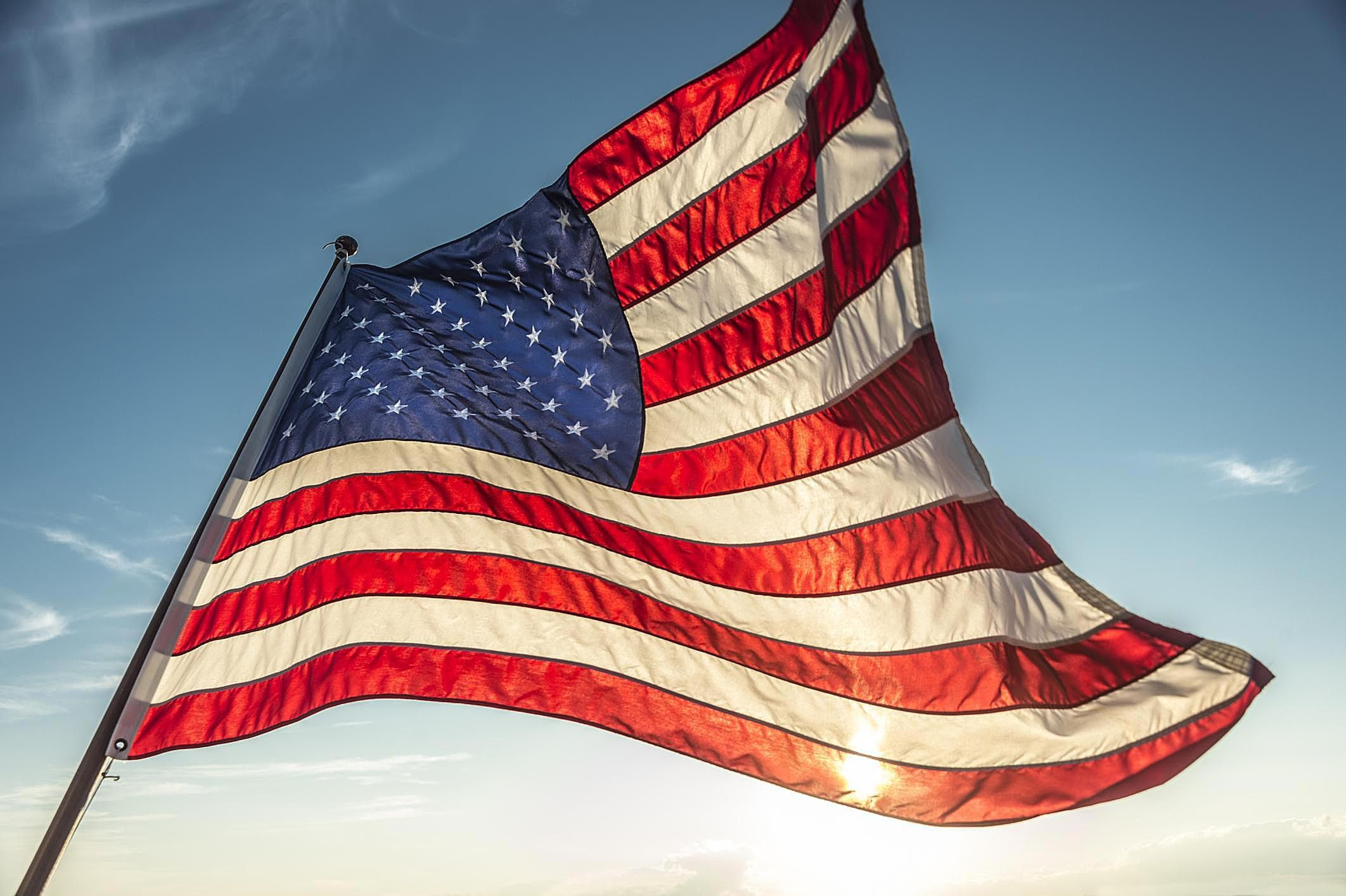 Main Points To Remember When Flying The American Flag American Flags Flying American Flag Pictures Flag