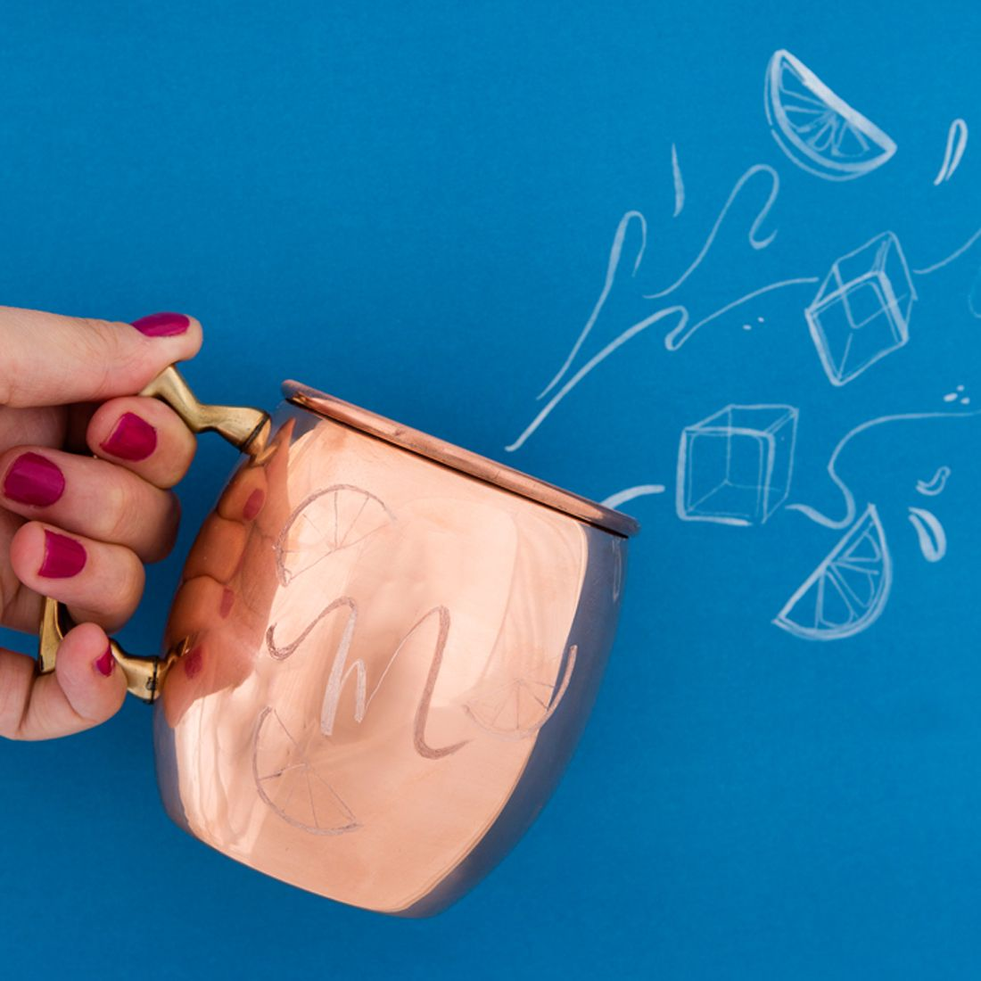 These DIY Engraved Copper Mugs Will Be the Star of Any Party