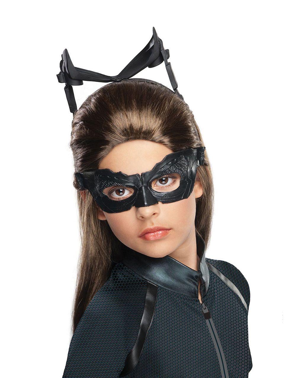 Catwoman Kids Costume Wig, Dark Knight Rises Kids Costume Accessory | eBay