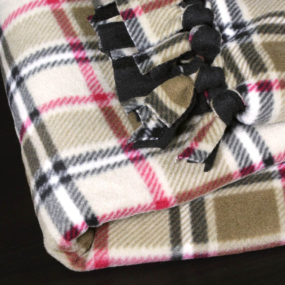 How to make a no sew fleece blanket recipe sewing