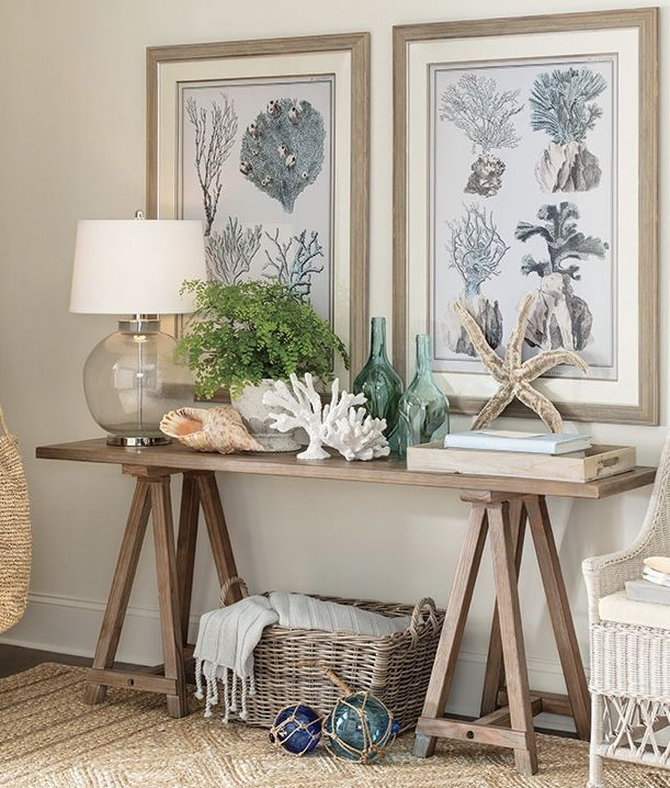 Birch Lane Console Table With Beach