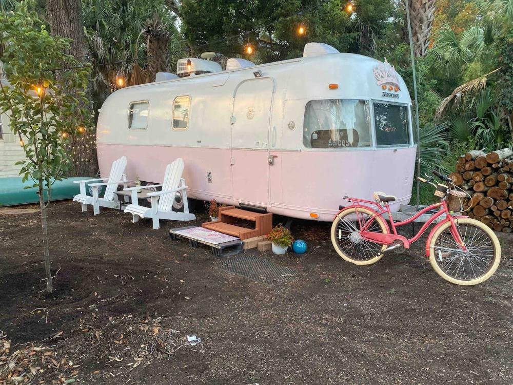 Adventure Argosy Campers Rvs For Rent In Pensacola Florida United States Trailer Park U Haul Truck Camper