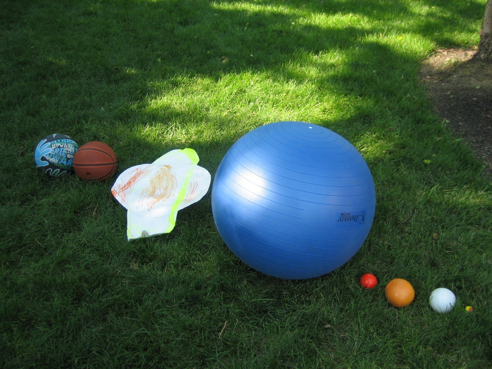 Scale Model Of The Solar System Using Sports Balls Google Search Solar System To Scale Solar System Projects Solar System