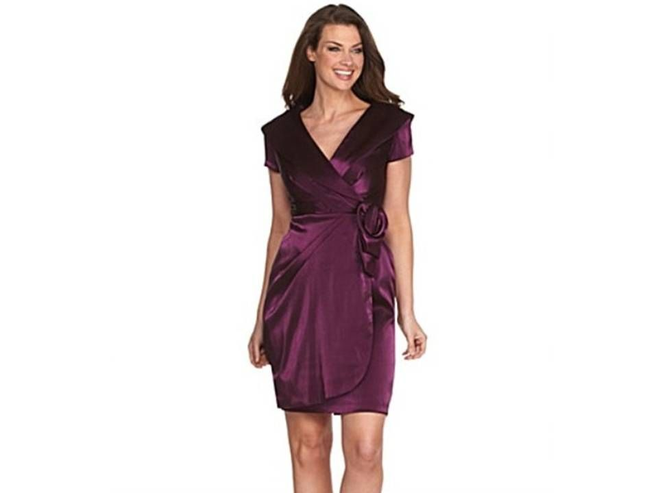 Modelos de vestidos cortos de fiesta para senoras