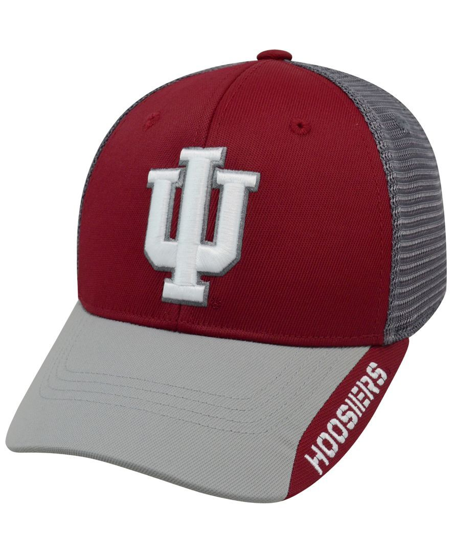 Top of the World Indiana Hoosiers Dugout 2 Stretch-Fit Cap