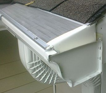 Keep Birds Bees Squirrels And Mosquitoes Out Of Your Gutters Gutter Protection Overflowing Gutters Gutter
