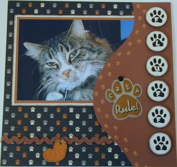 Cat Scrapbooking Ideas Found On Twopeasinabucket Pet Pages