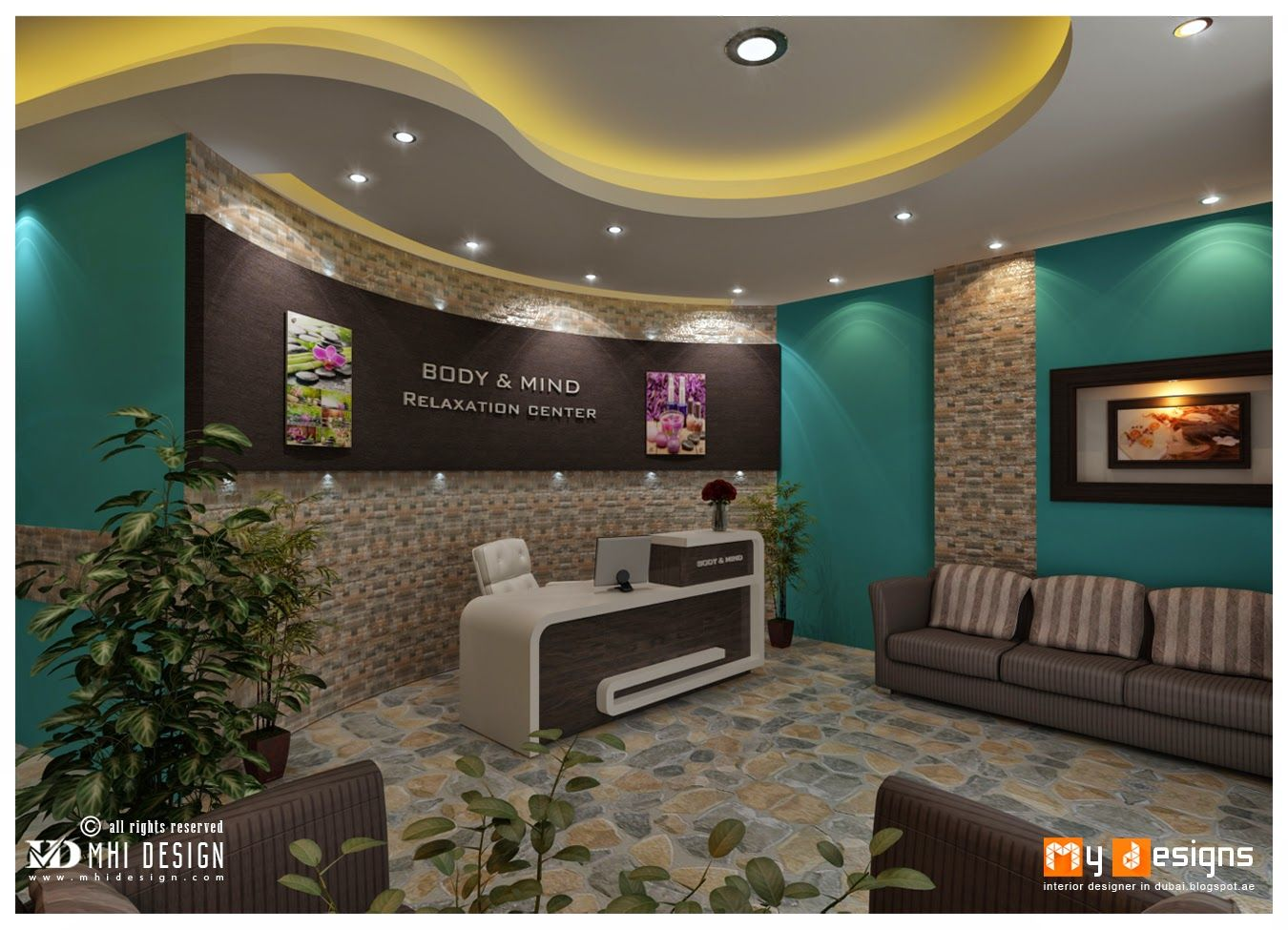 Mini Spa Da Casa massage parlor design | parlour design, interior design