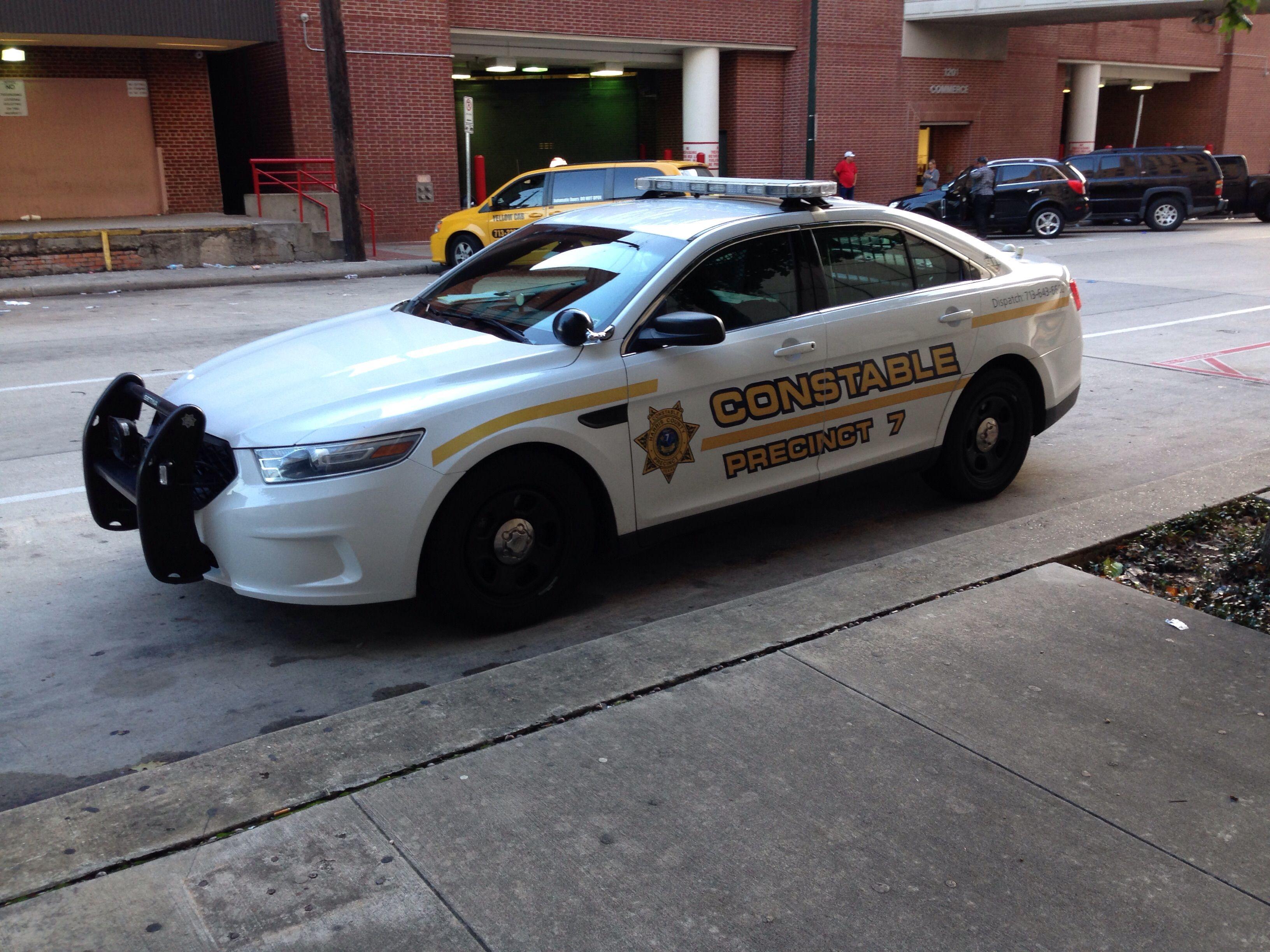 Harris County Constable Precinct 7 Ford Police Interceptor Texas Ford Police Police Cars Police