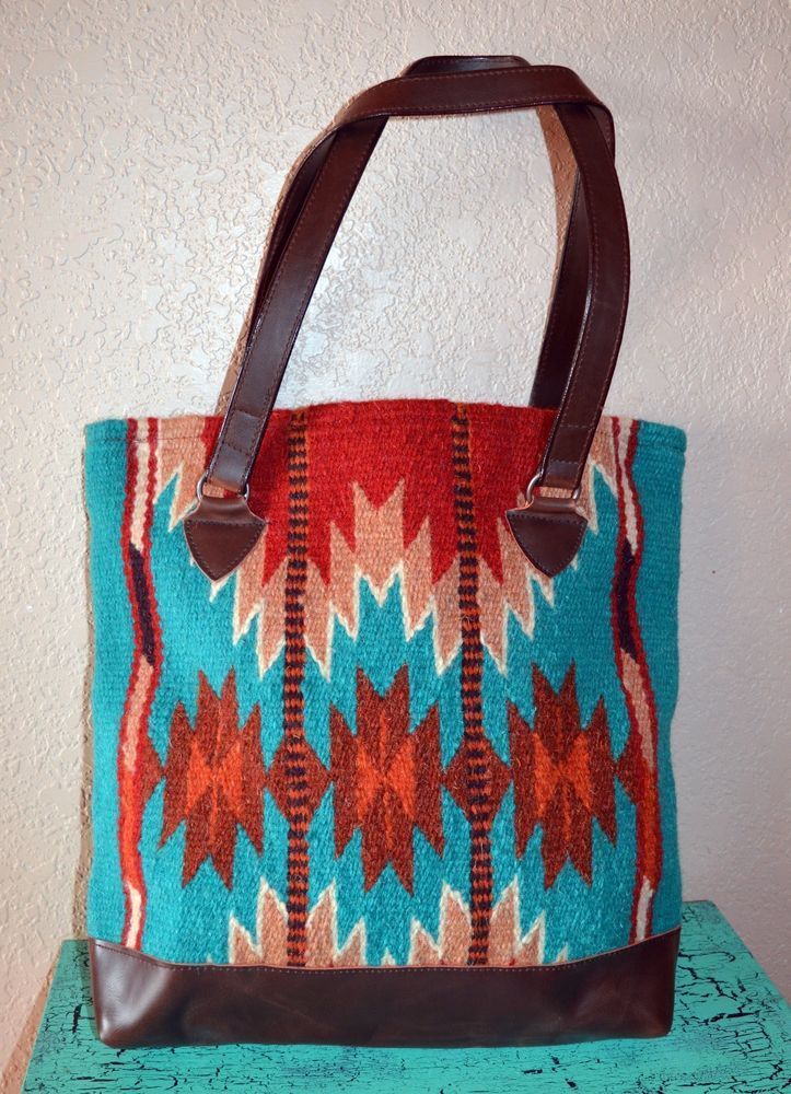 543e619b58 CHIMAYO WOOL TOTE PURSE HANDBAG BLANKET Southwestern Aztec stunning!!   other…