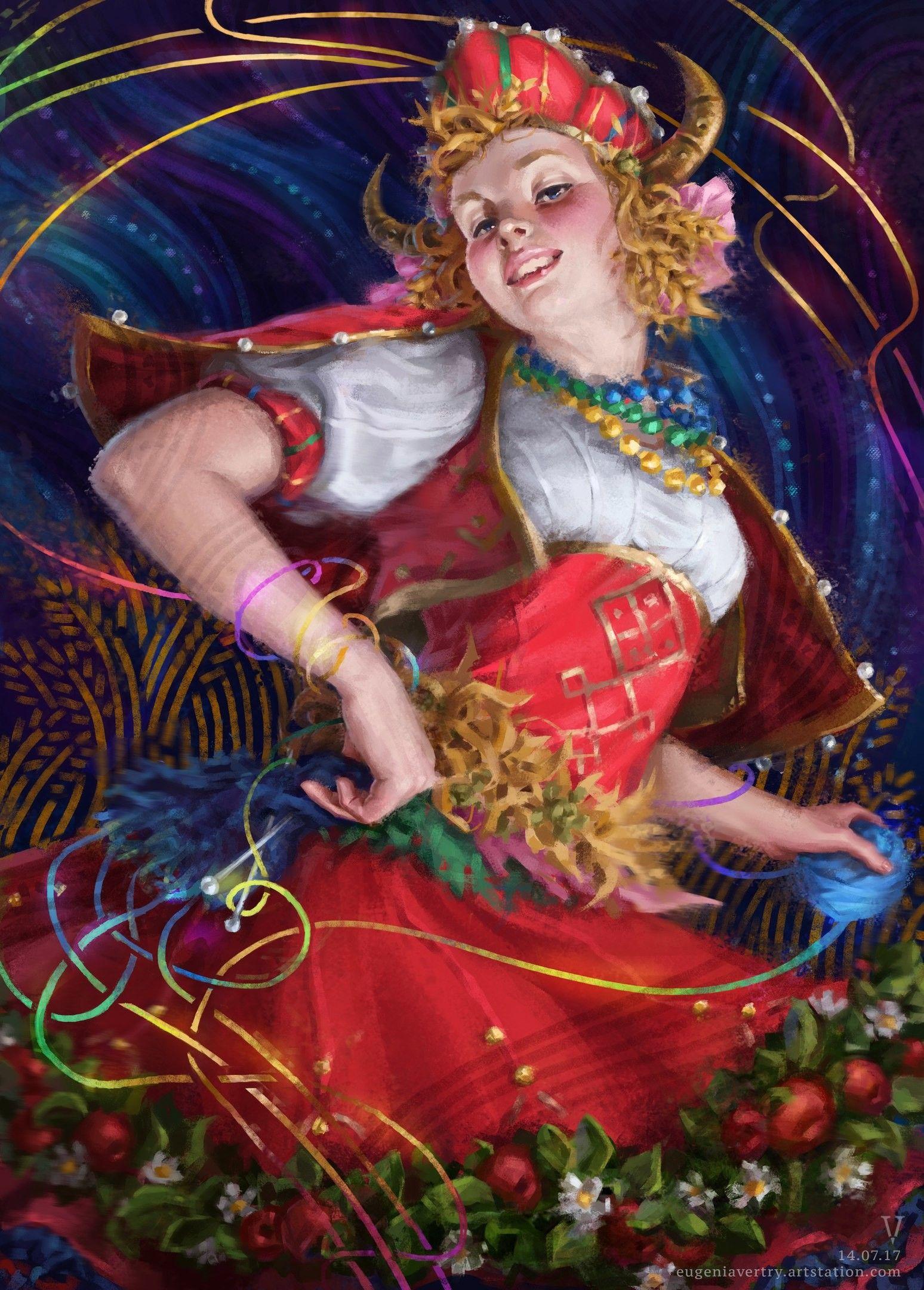 Slavic Goddess Makosh