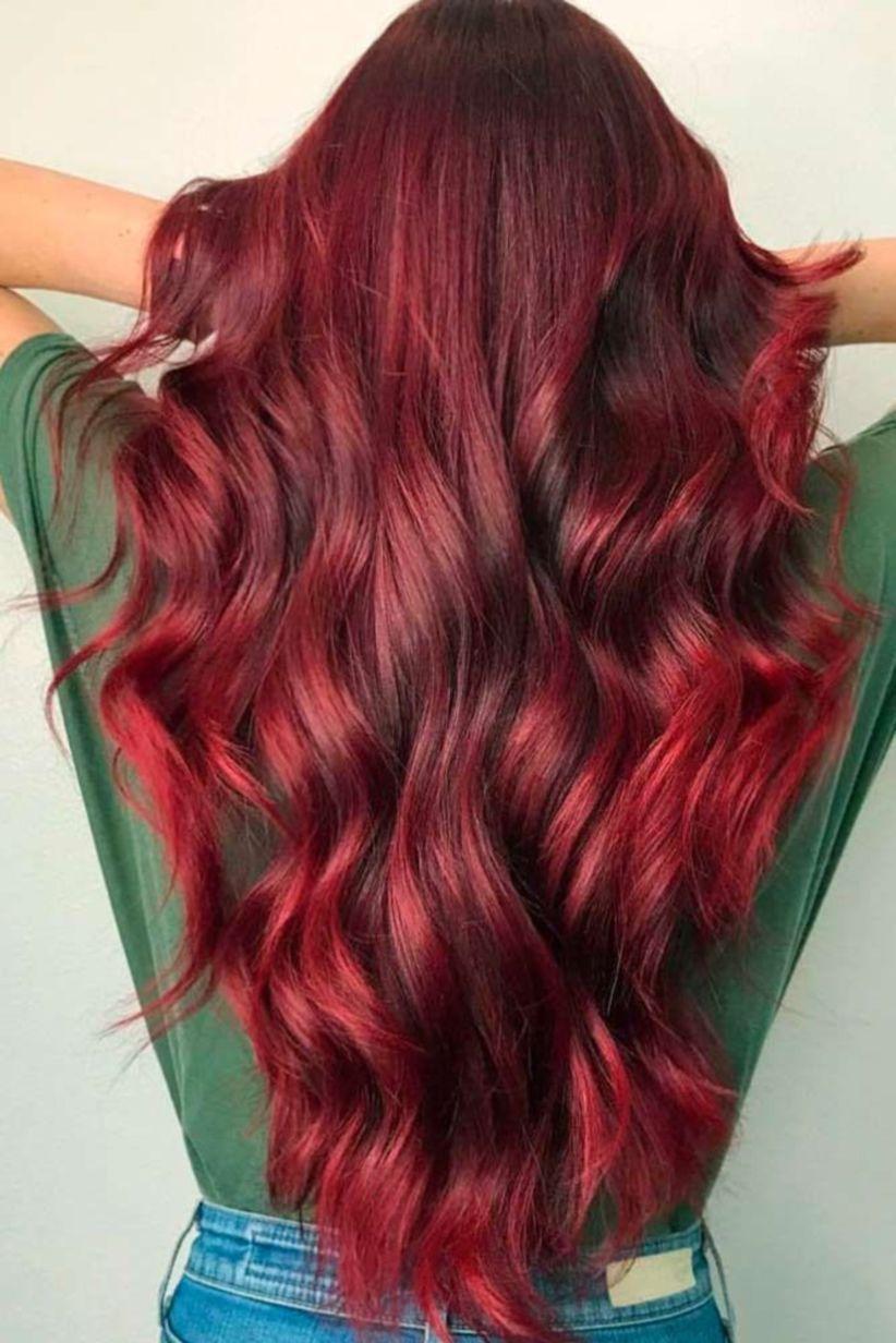 Pin By Cristina Carrillo On Hair Tips Burgundy Hair Wine Hair Shades Of Red Hair