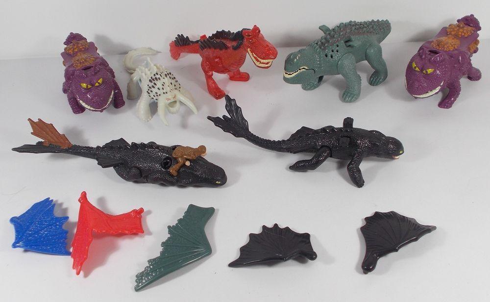 Mcdonald 039 S Toys Figures Job Lot How To Train Your Dragon How To Train Your Dragon Happy Meal Toys Happy Meal Mcdonalds