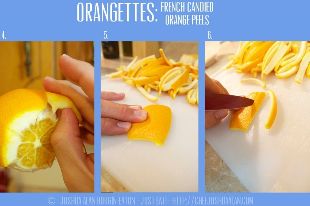 Make Your Own Candied Orange Peels