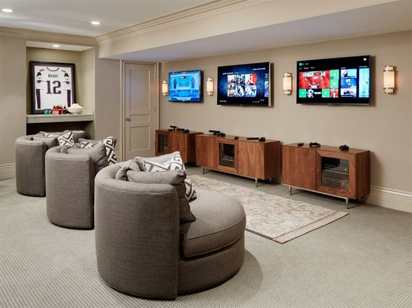 25 Incredible Video Gaming Room Designs Game Room Furniture