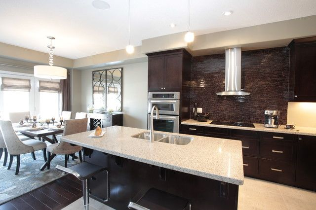 Modern Kitchen And Dining Space Combination Get The Best Of Both