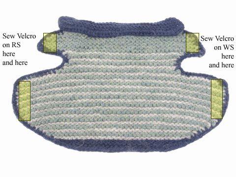 Guest designer Annie Modesitt has contributed this cute garter ...
