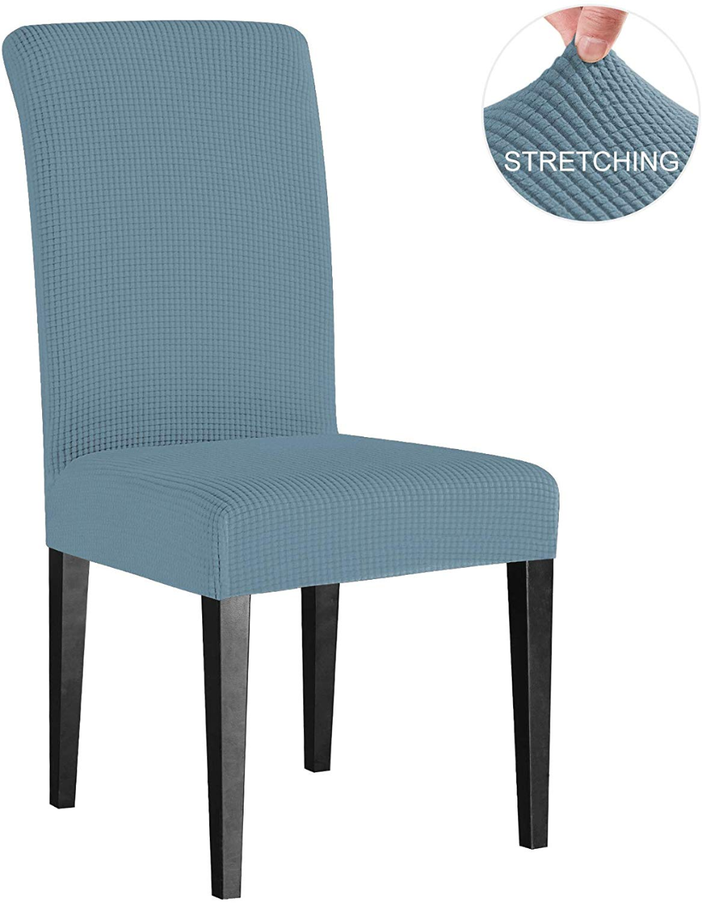 Subrtex Dyed Jacquard Stretch Chair Cover Sets, Dining