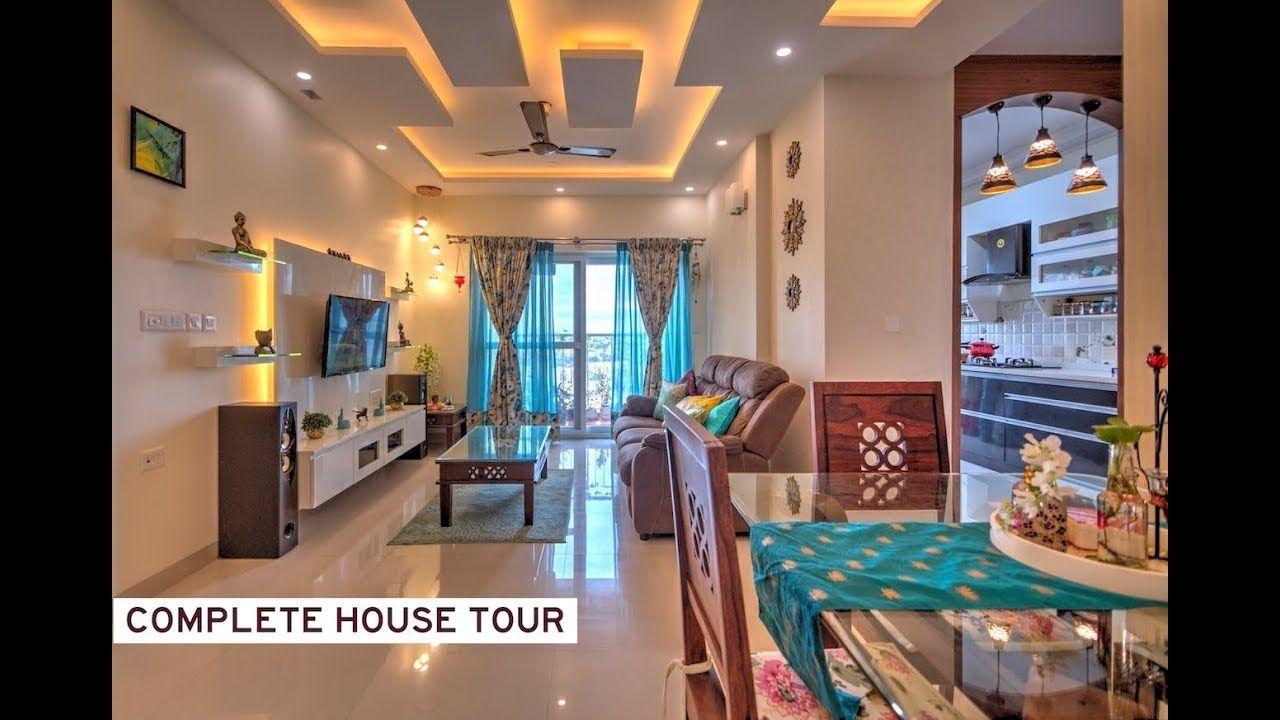 Vibrant Home Interior Design 2 Bhk Salarpuria Sattva Cadenza