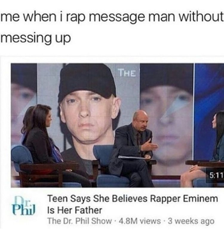 Hahahahahahaha Omg So True Is It Hard For You All To Rap Message Man I Can Do It Perfectly One Pilots Eminem Twenty One Pilots