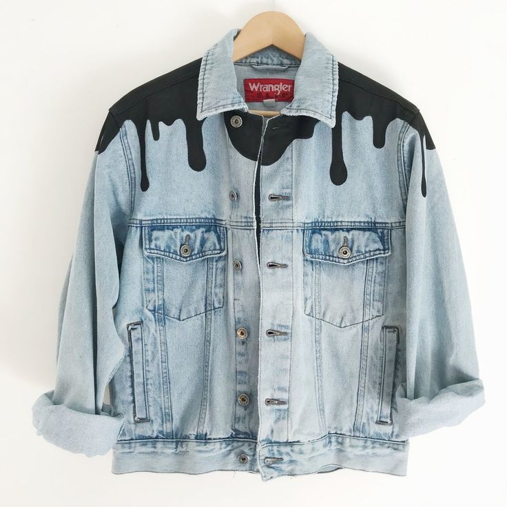 Genderless Denim Jacket-02 - #denim #Genderless #Jacket02 #machine #thingstowear