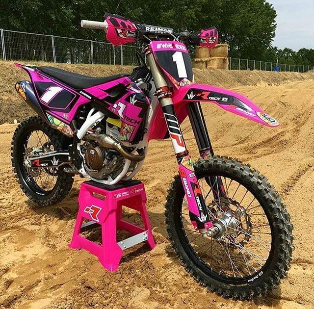 Osroias Trilhademotos Braap Motocross Adrenalina Gopro Goprohero Trilha Offroad Ktm Honda Kawasa Yamaha Dirt Bikes Pink Dirt Bike Dirt Bike Racing