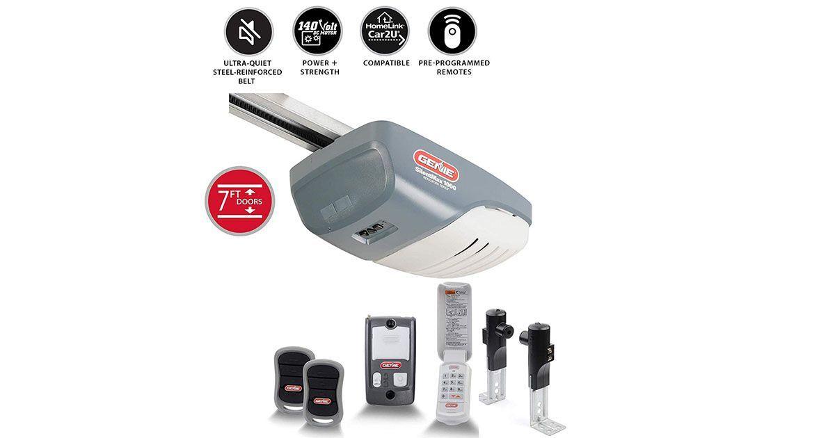 Genie automatic garage door opener model 200 what should