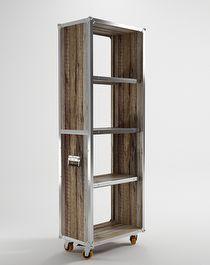 Roadie vertical storage 4 shelves