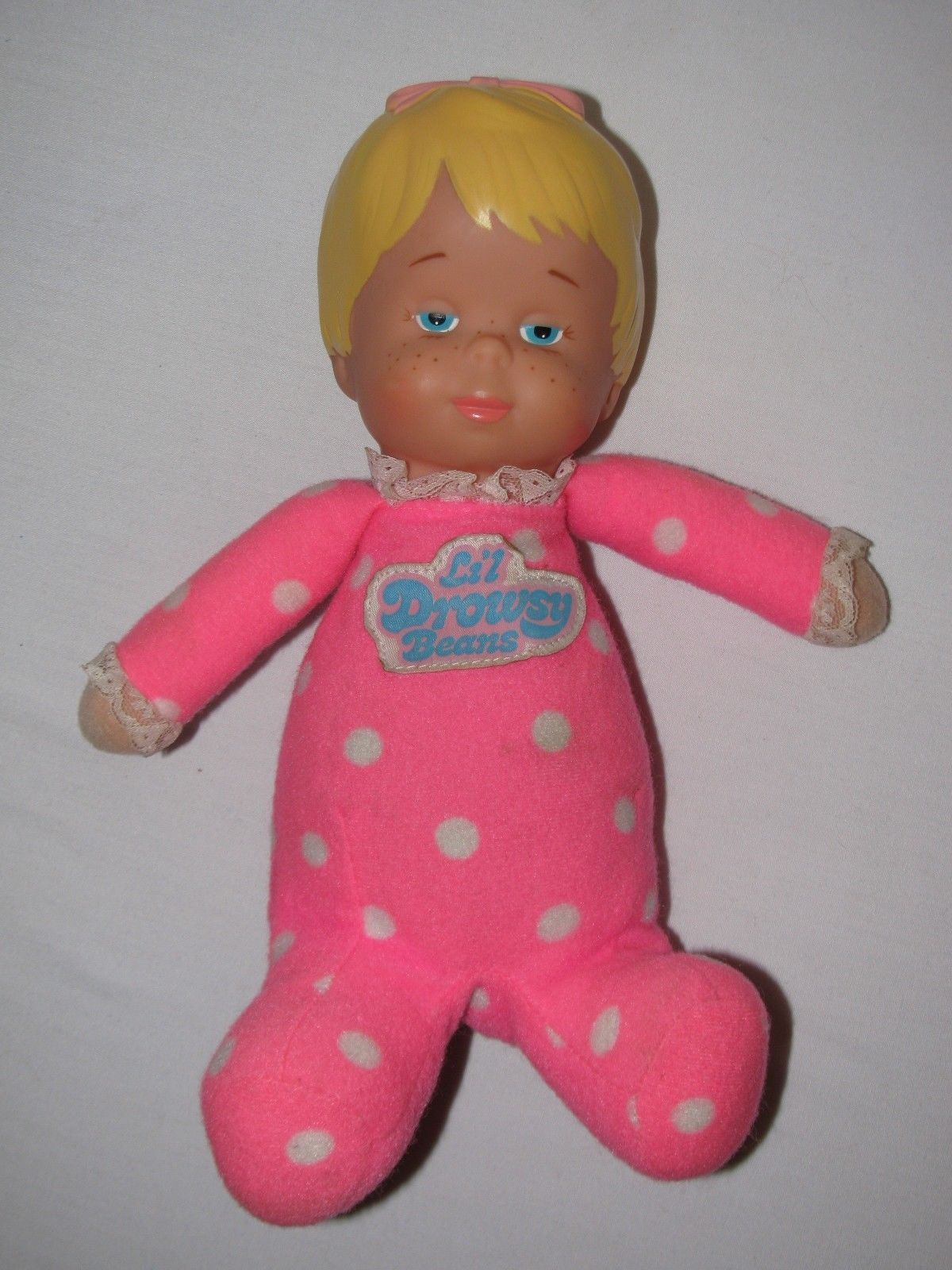 Details About Vintage 1982 Mattel Lil Drowsy Beans Doll