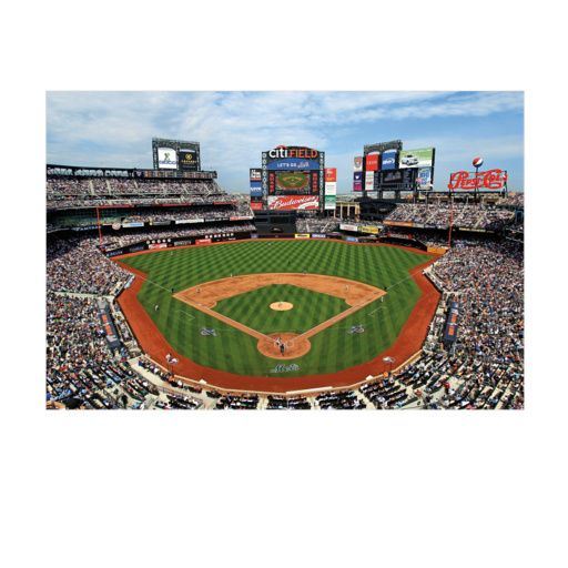 Home Of The New York Mets Citi Field Giant Mural New