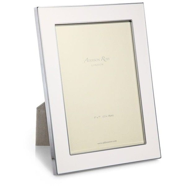 Addison Ross Enameled Photo Frame featuring polyvore, home, home ...