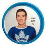 1962-63 Shirriff Coins #12 Dick Duff Front