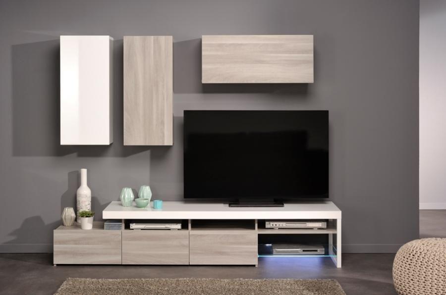 wall entertainment bespoke white - Google Search | TV Console ...