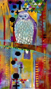 Mantling Owl
