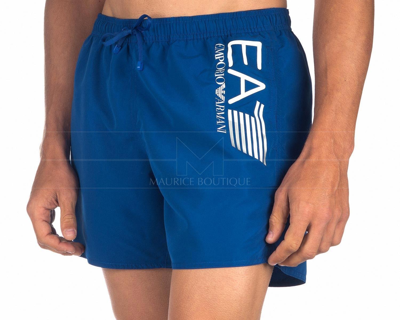 Ea7 Swim Shorts Ea7 Emporio Armani Mazarine Blue Ropa Emporio Armani Ropa De Playa