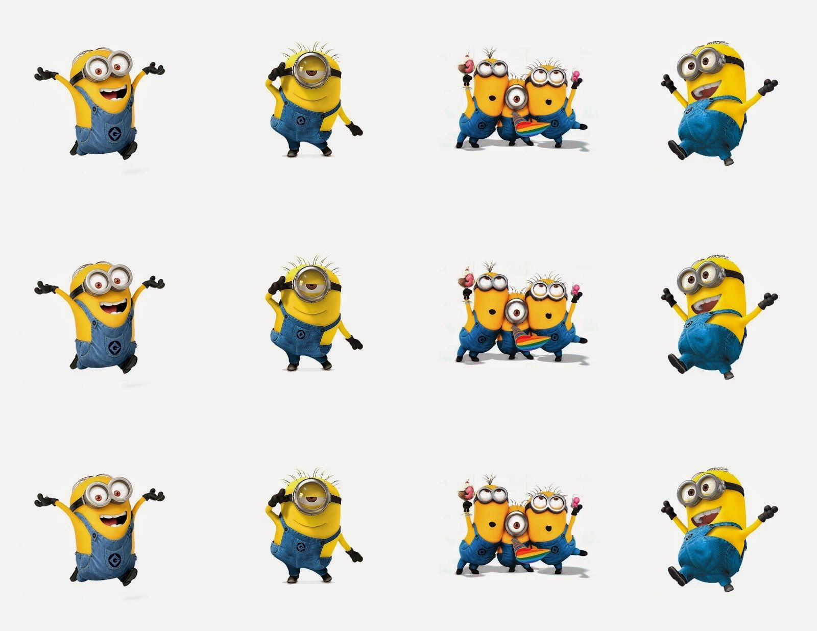 Minions Free Printable Bunting Labels And Toppers With Images