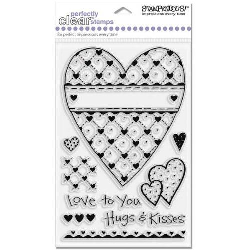 Light Heart Set   Stampendous Perfectly Clear Stamps: Arts
