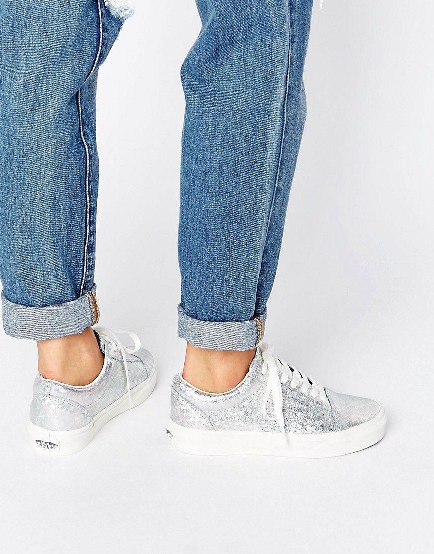 Comprar Mujer Zapatillas de deporte con ribete holográfico