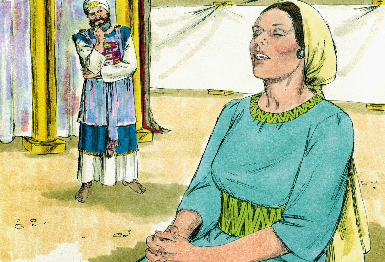 Bible Lessons For Kids 5 W Questions For The Story Of Hannah Prays For A Baby From 1 Samuel 1