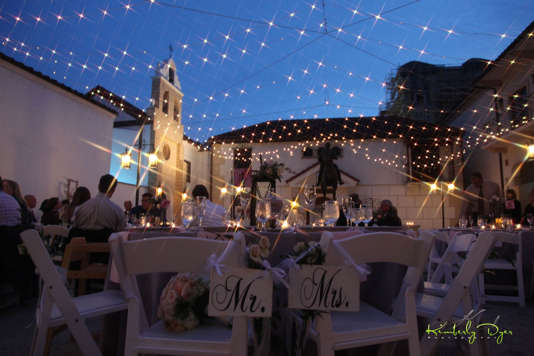 A Beautiful Wedding Under The Stars At South Florida Museum In Bradenton FL
