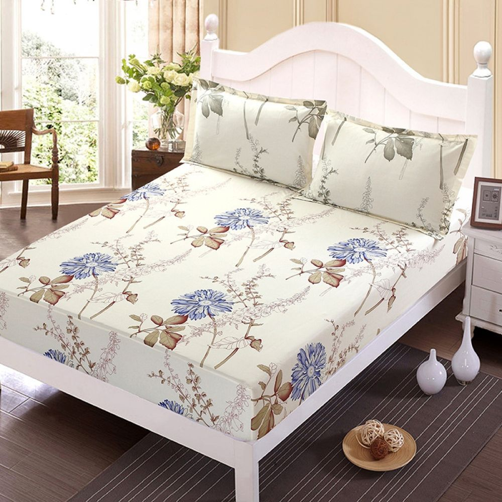 Elastic Rubber Band Bed Sheet Mattress Cover in 2020